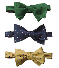 Dot Bow Tie $49.50 AT vintagedancer.com