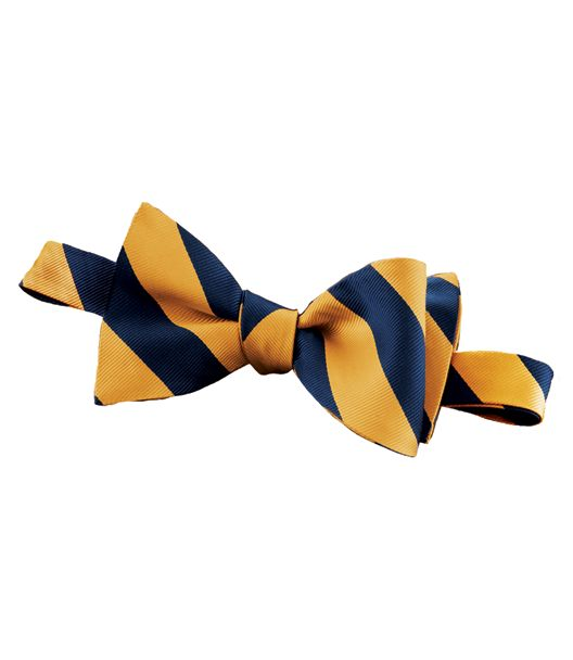 Regimental Guard Stripe Bow Tie £39.16 AT vintagedancer.com