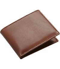 Joseph A. Bank Leather Bi-Fold Wallet