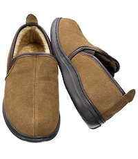 Jos. A. Bank Suede Slip-on Slipper