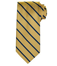 "Regimental Pencil Stripe 61"" Long Tie"