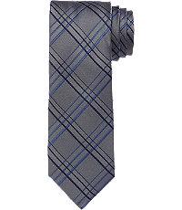 New 1940s Men's Ties, Neckties, Pocket Squares 1905 Grid Tie CLEARANCE $29.98 AT vintagedancer.com