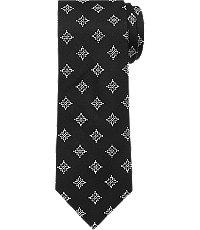 New 1940s Men's Ties, Neckties, Pocket Squares 1905 Floral Medallion Tie CLEARANCE $29.98 AT vintagedancer.com