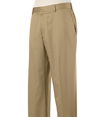 Stays Cool Wrinkle Free Plain Cotton Pants