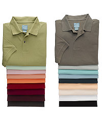 Stays Cool Solid Short Sleeve Pique Polo
