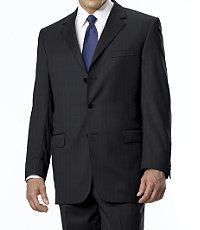 Mens Signature Wool Suit on Sale for $277.00