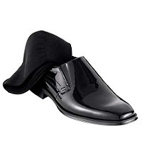 Patent Formal Slip-On Shoe by Jos. A. Bank