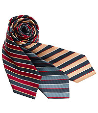 New 1940s Men's Ties, Neckties, Pocket Squares Argyle Stripe Tie $24.98 AT vintagedancer.com