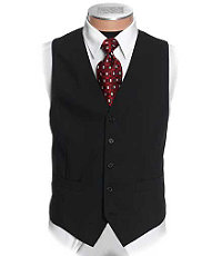 Business Express Black Stretch Vest