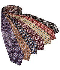 Basic Oval Diamonds Tie