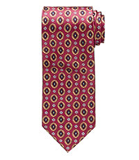 History of 1920s Mens Ties, Neckties, Bowties Executive Collection Geometric Diamond Tie - Long $26.98 AT vintagedancer.com