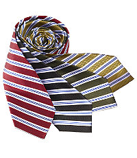 "Basic Textured Satin Stripes 61"" Long Tie"