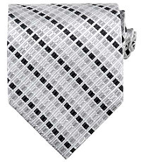 Basic Grey Multi Tone Tie