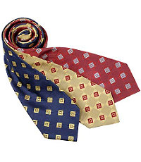 "Basic Checkerboards with Large Squares 61"" Long Tie"