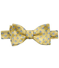 Tonal Grid wSmall Squares Bow Tie CLEARANCE $14.99 AT vintagedancer.com