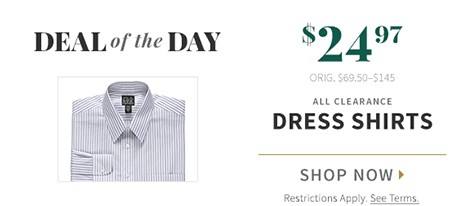Online Only, Deal of the Day