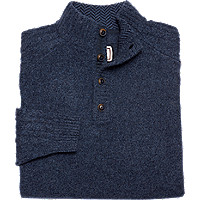 JosABank.com deals on 1905 Collection Cable Sleeve Mock Neck Sweater