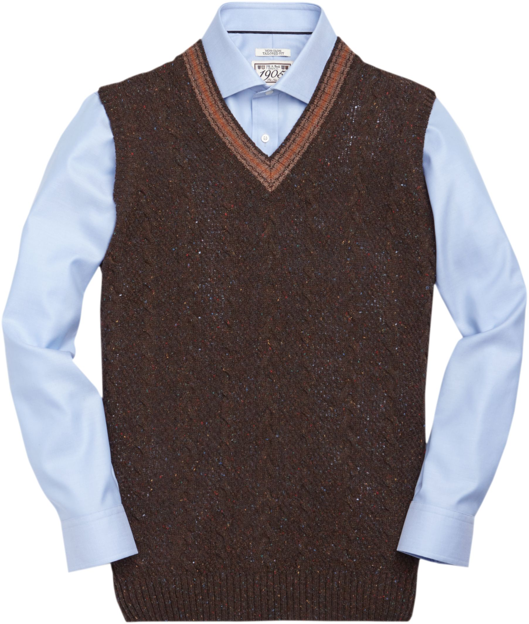 1e618217a95 1905 Collection Lambswool Sweater Vest - Big   Tall CLEARANCE - All ...