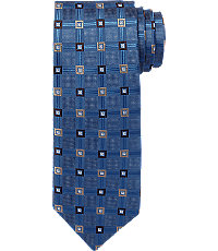 1940s Style Mens Clothing Signature Collection Geometric Tie CLEARANCE $39.98 AT vintagedancer.com