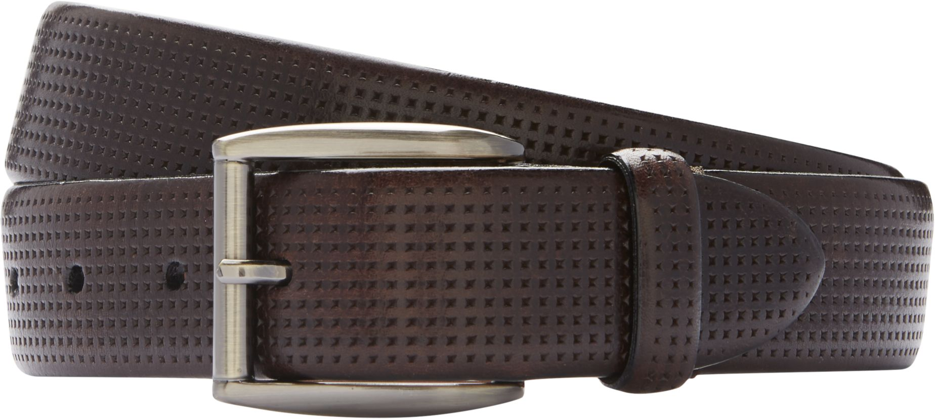 Joseph Abboud Brown Embossed Belt